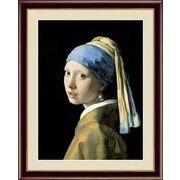 【フェルメールの代表作】謎多き画家 鮮やかな青色 ■ヨハネス・フェルメール(Johannes Vermeer)F4号