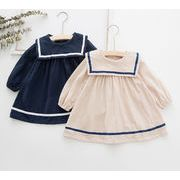 2020春  韓国子供服  子供用 韓国ファッション コート ドレス 80-130