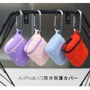 AirPods ケース シリコンケース イヤホンカバー  AirPodsケース AirPods1/2ケース 保護カバー 28色展開
