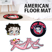 【Betty Boop & Pink Panther】American Floor Mat