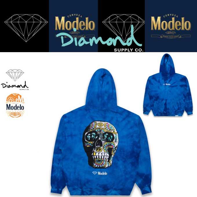 DIAMOND×Modelo TIE DYE HOODIE  18220