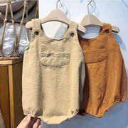 韓国ファッション 韓国子供服 オーバーオール サロペット  コーデュロイ 男女兼用