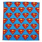 【ハンドタオル】スーパーマン ウォッシュタオル Sシールドちらし