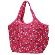 【エコバッグ】ムーミン アルミシート付きくるくるバッグ ピンク
