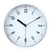 掛時計 ハリー Φ22cm ホワイト