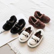 児子供 コットン靴 女児 ウインター 手厚い プラス ベルベット 靴 男 中 大 子供