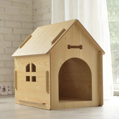 犬小屋/猫小屋 ペット屋 PET HOUSE 木製犬舎/猫舎 室内屋外犬舎/猫舎 DIY組み立て
