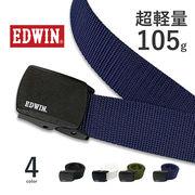 全4色 EDWIN エドウイン 日本製 超軽量 ナイロンベルト