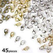 45個 【基礎金具】 カニカン 12×7.5mm (全5色)