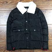 コットンコート 男 アウターウェア 冬 新しいデザイン 男性服装 手厚い 短いスタイル