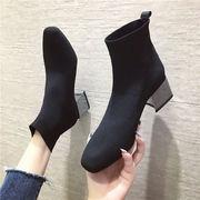 ブーツ 女ブーツ 秋と冬 新しいデザイン 粗製 マーティンブーツ 女性英国スタイル ブー
