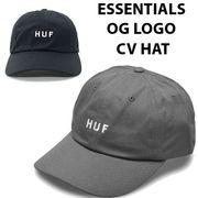 【HUF】(ハフ) ESSENTIALS OG LOGO CV CAP / オリジナルロゴ キャップ 2色