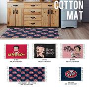 【コットン100%】Cotton Mat【Betty Boop STP他】