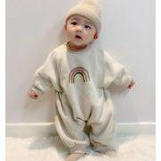 ロンパース★激安★★子供服★キッズトップス★赤ちゃん着可愛い★裏起毛★66~90cm