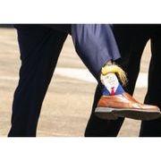春夏新作 729997大きいサイズ 米国 アメリカ 大統領 トランプ 靴下 金髪