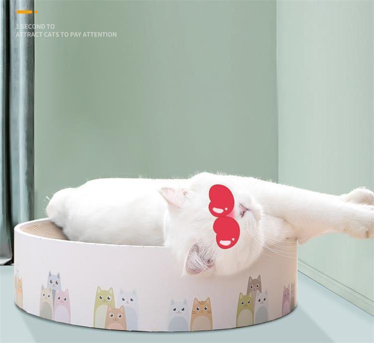 今だけの特別価格!激安セール 猫スクラッチボード  前足グラインダー 紙 猫の巣 耐摩耗性 猫のおもちゃ