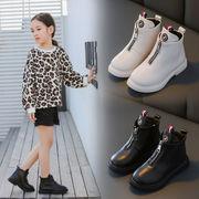 児子供 マーティンブーツ 女児 ブーツ 新しいデザイン 春秋 シングルブーツ ガール 中