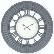 掛け時計 デネブ Φ75cm グレー