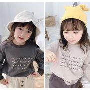 春秋 子供服 長袖Tシャツ 可愛い  韓国ファッション トップス  キッズ