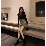 2020AW新品早割 韓国ファッション 2020年春 秋 新スタイル デザインセンス スカート 2点セット
