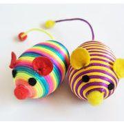 猫雑貨 猫玩具 猫と遊び ペット用品 ペット玩具 ネズミ