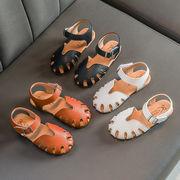 女児 パッケージ ヘッド サンダル 夏 新しいデザイン ファッション 児童 アンティーク