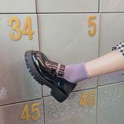 厚底 プラットフォームシューズ 春 新しいデザイン 女 ネット レッド 韓国風 何でも似