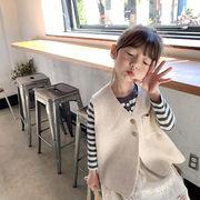 セーター カーディガン ベスト キッズ 女の子 韓国子供服 カジュアル 2020新作 SALE ファッション