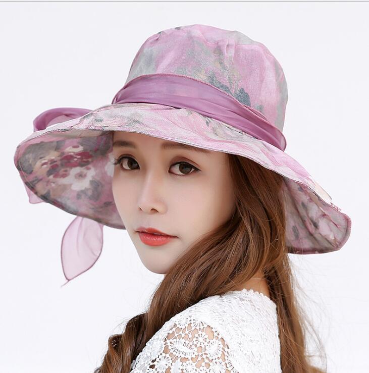 2020新作 帽子 クロッシェ 花柄 日焼け止め 上品 気質 人気 ファッション 大つば