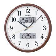 セイコー 電波掛時計 KX383B