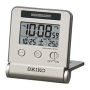 セイコー ライト点灯電波目覚時計 SQ772G
