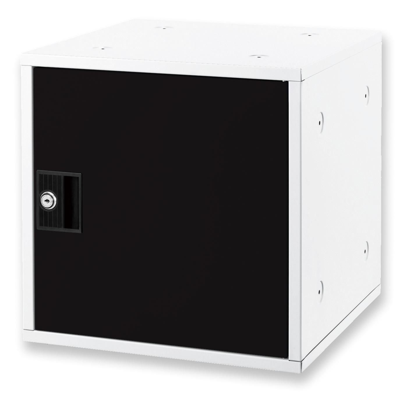 アスカ 組み立て式シューズボックス ブラック SB800BK