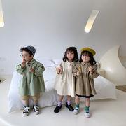 韓国ファッション 韓国子供服  男女兼用  2020春夏新作 子供服 オーバー 80-130cm 3色