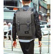 スクエア リュック バックパック バッグ メンズ レディース 大容量 ビジネス 旅行 3色