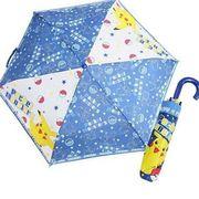 ポケットモンスター 折畳傘 持ち手付き 折り畳み傘 おりたたみ傘 かさ 雨具 携帯傘 ポケモン