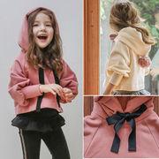 トップス パーカー 上着 長袖 キッズ 女の子 厚手 男女兼用 韓国子供服 2020新作 SALE ファッション