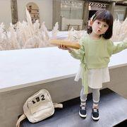 パーカー スカート 長袖 キッズ 女の子 韓国子供服 2020新作 SALE ファッションm14657