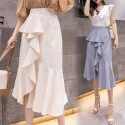 2020早春新作★レディース/ボトムス★スカート★台型スカート★マーメイドスカート★3色4サイズ