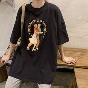 初回送料無料 2020ヴィンテージ プリント 半袖 Tシャツ 大人気 全2色 mjpzn-2001at35秋夏 新作
