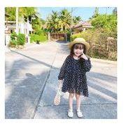 韓国ファッション 韓国子供服 ワンピース 2020春夏新作 子供服 スカート  80-130cm 2色