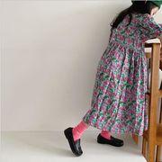 ワンピース  半袖 花 夏 キッズ 女の子 韓国子供服 2020新作 SALE ファッション m14723