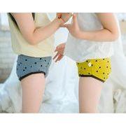韓国ファッション レディース 男 少年 子供 下着 可愛い パンツ 6色 90-135CM