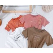 子供シャツ キッズ服 夏 ブラウス  トップス 男の子 女の子tシャツ 子供服 カジュアル系