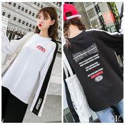 【即納732016大きいサイズ 韓国 レディース ファッション    Tシャツ   LL-4L