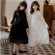 レース ワンピース プリンセス キッズ 女の子 韓国子供服 2020新作 SALE ファッション 動画ありm14812