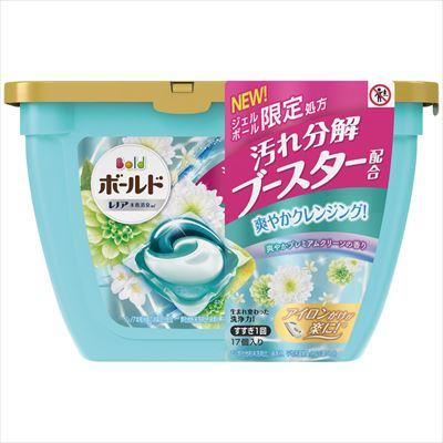 ボールド ジェルボール3D 爽やかプレミアムクリーンの香り 本体 17個入 【 P&G 】 【 衣料用洗剤 】