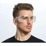 保護サングラス ウイルス対策 花粉対策 飛沫感染を防ぐ  防災 メガネ 男女兼用 眼鏡