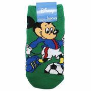 【靴下】ミッキーマウス キッズソックス サッカー
