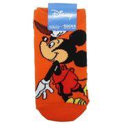 【靴下】ミッキーマウス キッズソックス バスケットボール