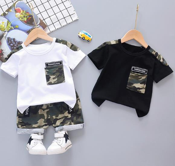 夏新作 セットアップ 男の子 キッズ服 子供服 2点セット Tシャツ+パンツ カジュアル